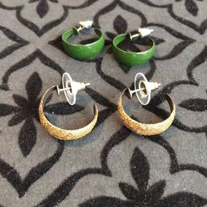 Other - 2 Pairs of Hoops